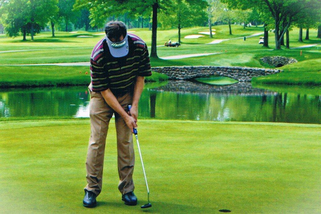 ball striking golf swing putting